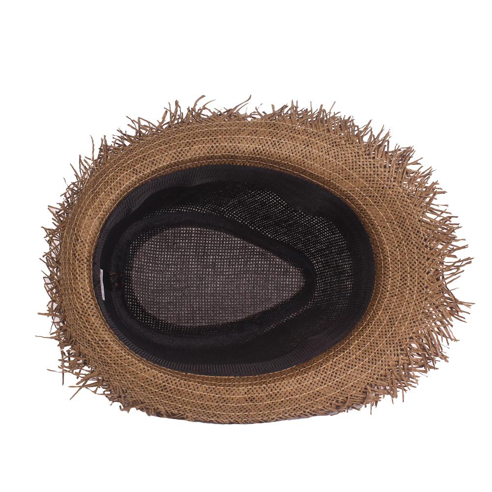 Men Summer Outdoor Breathable Lafite Jazz Straw Hat