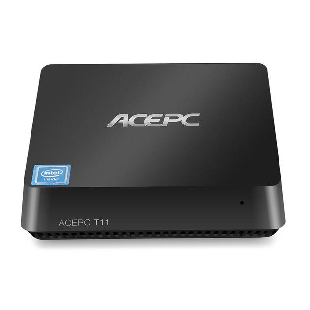 ACEPC T11 Intel Atom Z8350 4GB RAM 64GB ROM 5.0G WIFI bluetooth 4.0 100M LAN 4K Mini PC Support Windows 10