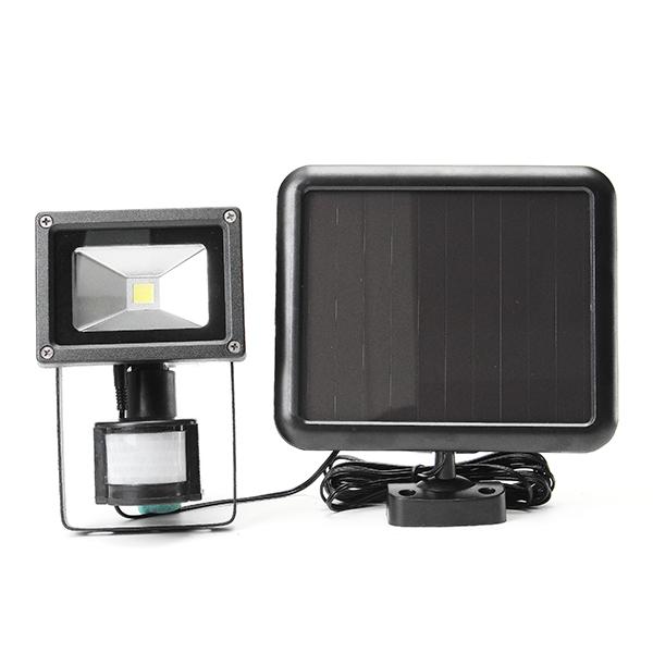 ARILUX® 5W Solar Power PIR Motion Sensor COB LED Adjustable Flood Light Outdoor IP44 Security Lamp