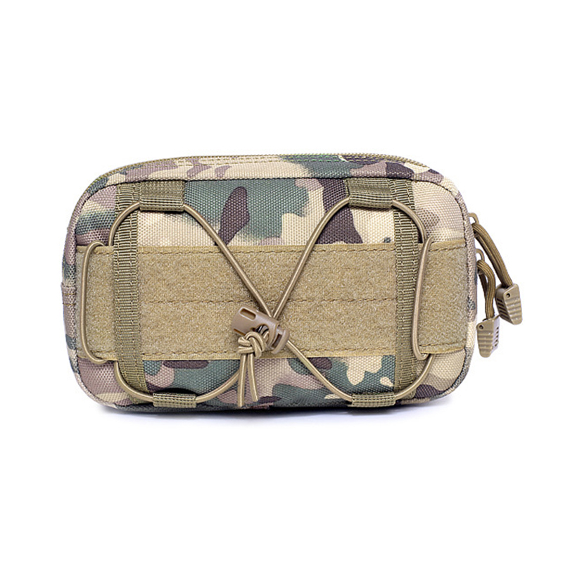 Outdoor Hunting Tactical Bag Military Camouflage Molle Kettle Bag Sports Waterproof Waist Pocket