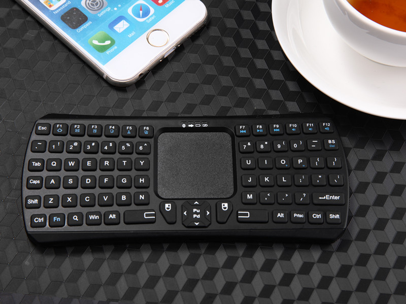Seenda IBK-26 3 in 1 Mini Portable Mouse Touchpad Wireless Bluetooth Keyboard for Android IOS Window
