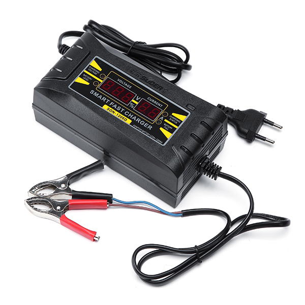 Suoer™ SON-1206D LED Intelligent Display Charger 6A 12V Car Battery Charger for Lead Acid Batteries
