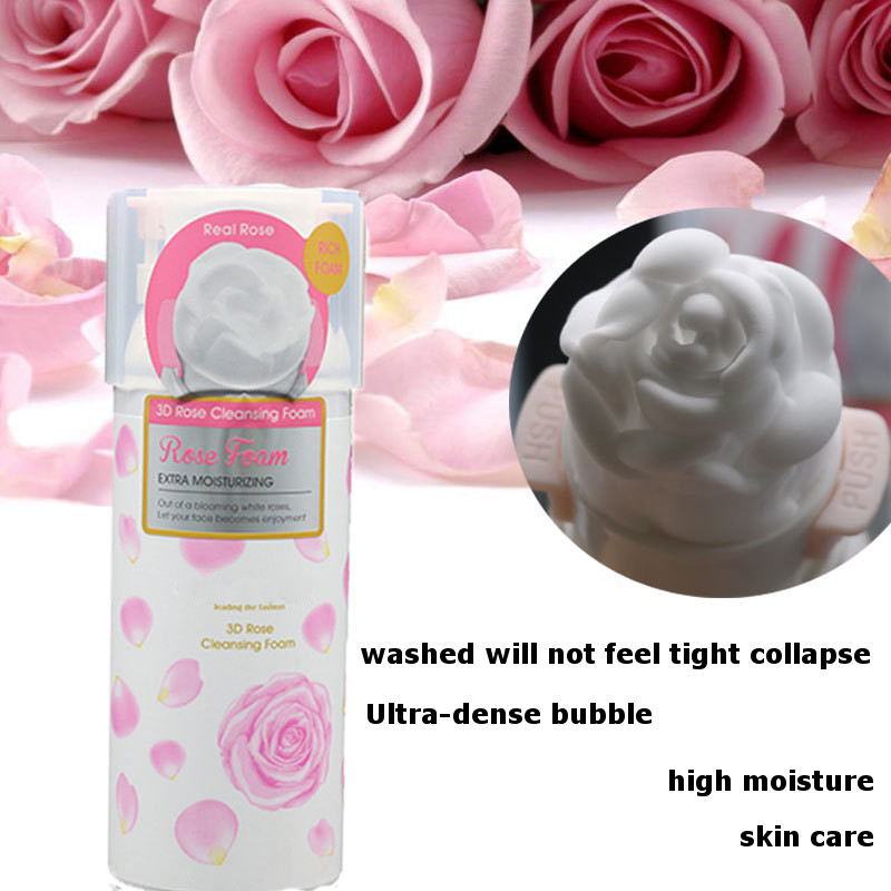 3D Rose Face Wash Foaming Cleanser Sealed