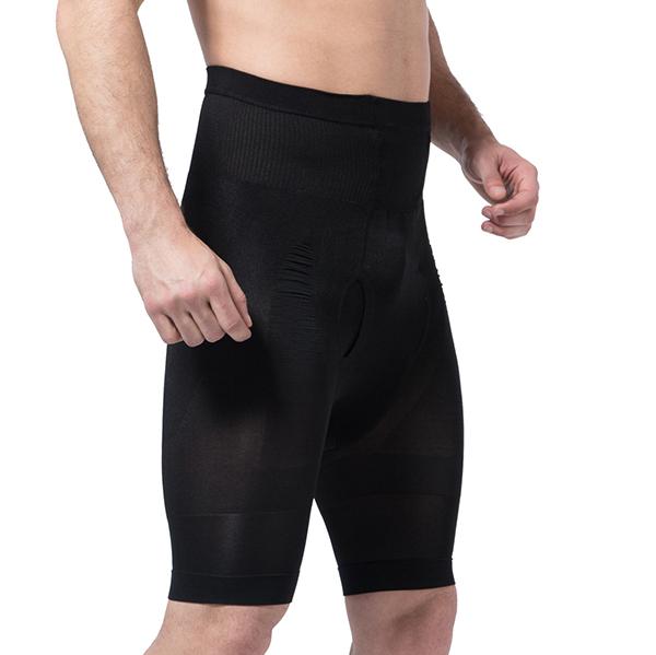 High Elastic Fat Burning Tight Tummy Tuck Hip Lifting Body Shaper Underpants for Men