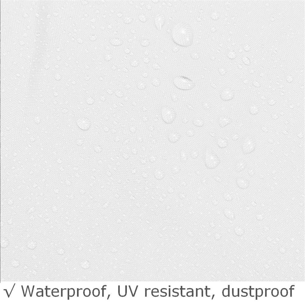 200x200x90cm Silvery Waterproof Weatherproof Hot Tub Spa Cover Cap Bag