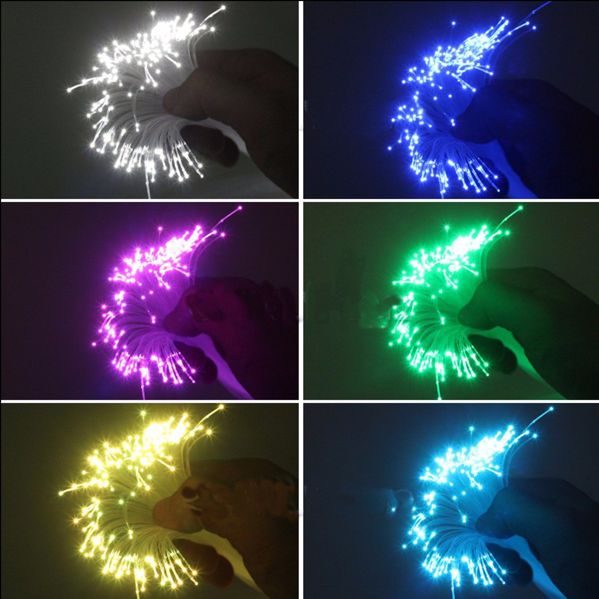 0.75mm 300m/Roll PMMA Plastic End Glow Fiber Optic Cable For Star Sky Ceiling LED Light