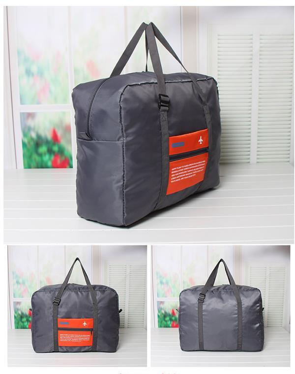 Men Women Oxford Cloth Waterproof Outdoor Travel Folding Duffel Bag Handbag
