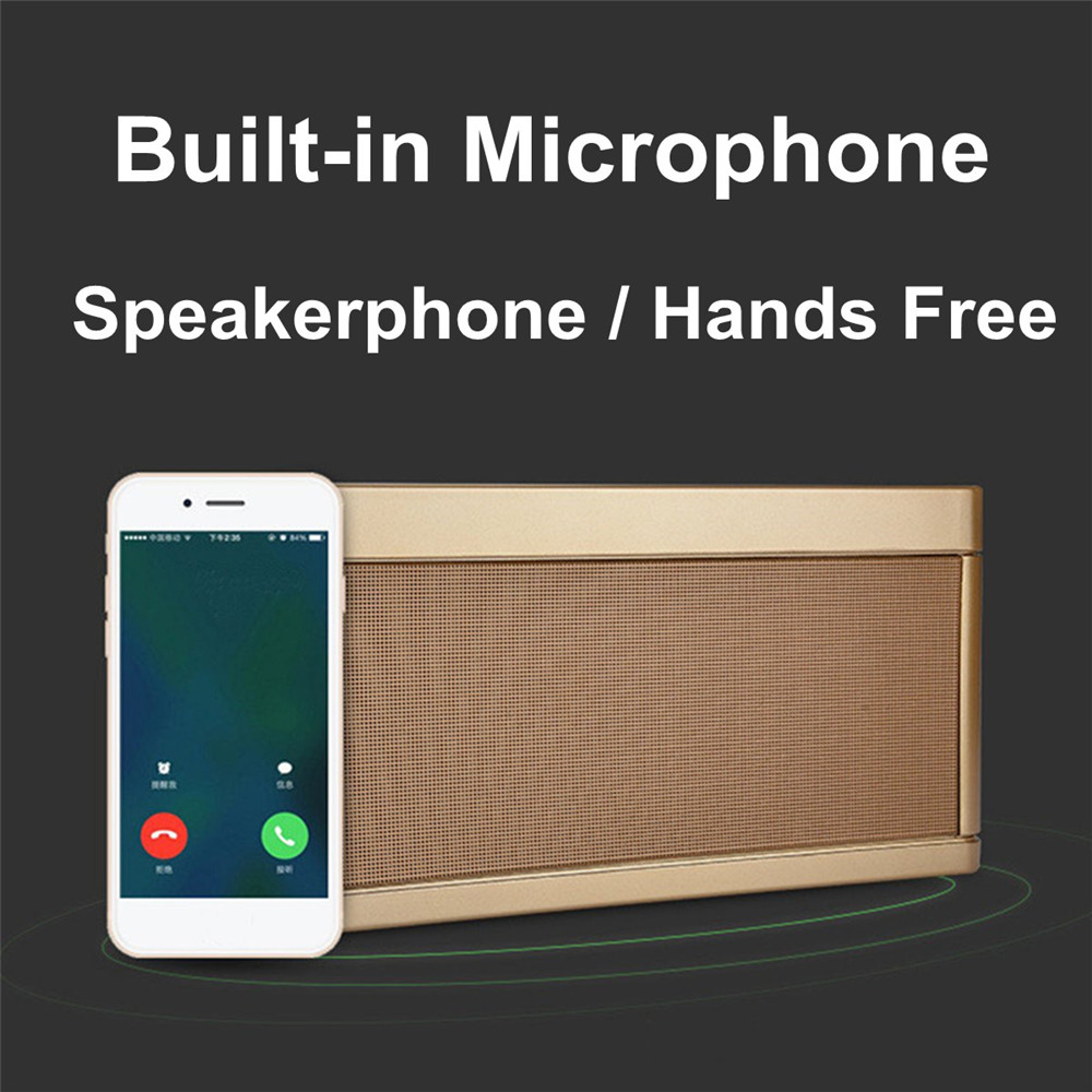 bluetooth Speaker Wireless AUX Stereo Music HiFi Loudspeakers Sound For Tablet Cellphone