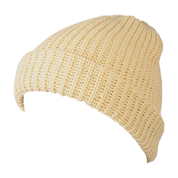 Unisex Men Women Knitted Slouch Beanie Hat Twill Pure Color Elastic Outdoor Cap