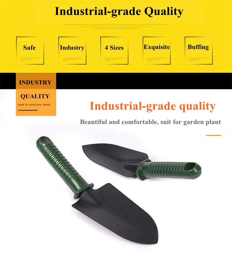 4Pcs Garden Shovel Set Stainless Steel Ergonomic Garden Tools