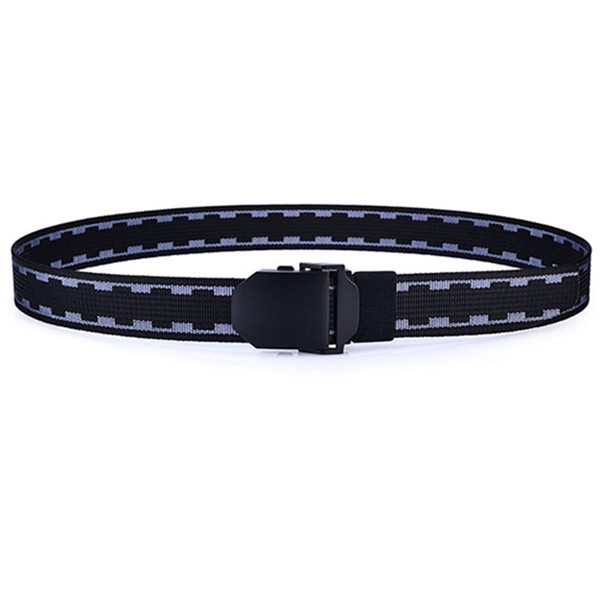 125cm Men Nylon Army Tactical Belt Durable Outdoor Sports Casual Automatic Buckle Pants Strap