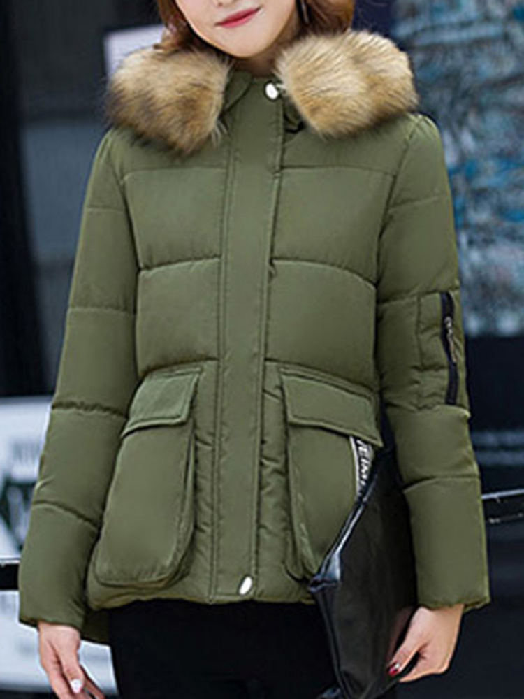 Winter Women Thick Cotton Coat