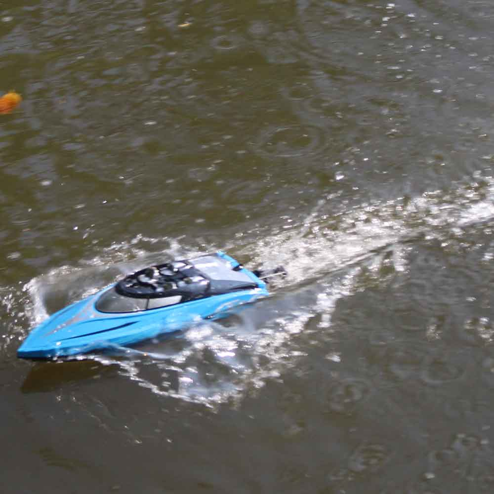H108 2.4GHz 4CH 25KM/h High Speed Mini Racing RC Boat RTR - Photo: 9