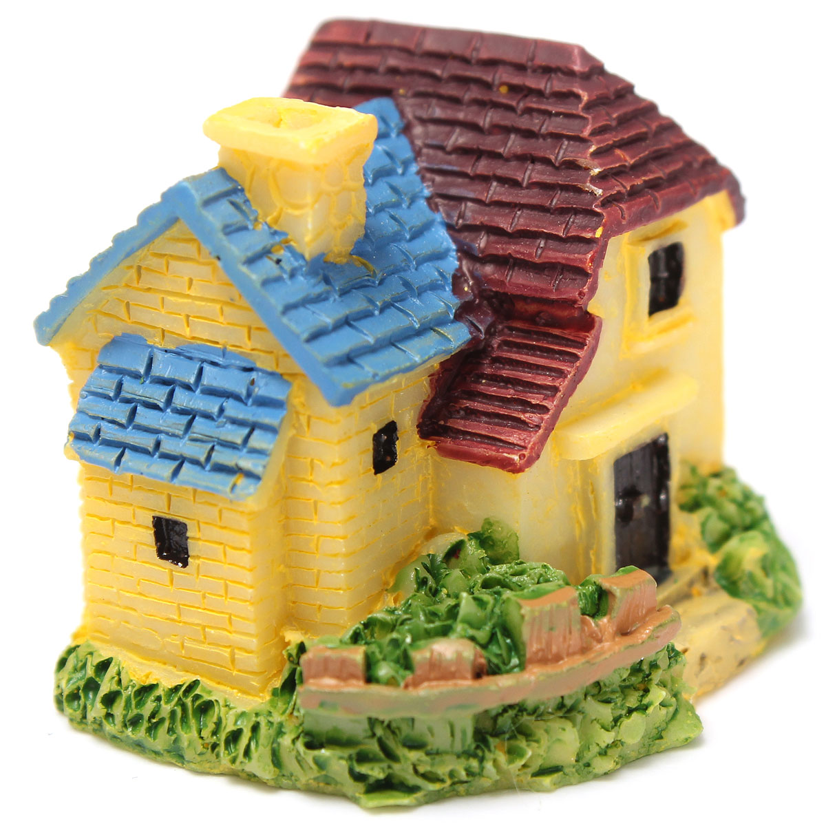 Miniature Mini Villa Flower Planter Potted Decor Garden Ornament
