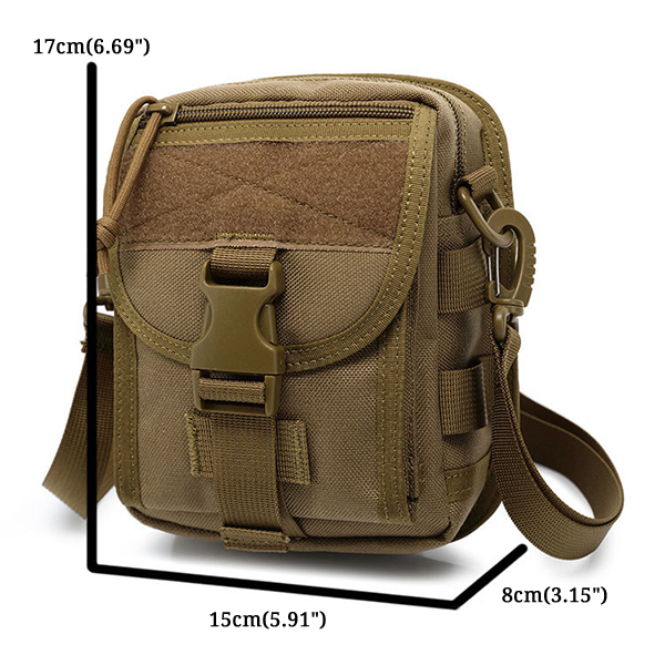 Army Style Nylon Tactical Men Shoulder Bag