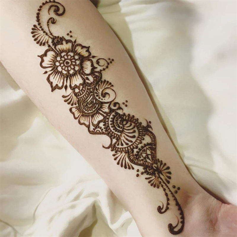 Black Natural Herbal Cone Temporary Tattoo Paint Body Art