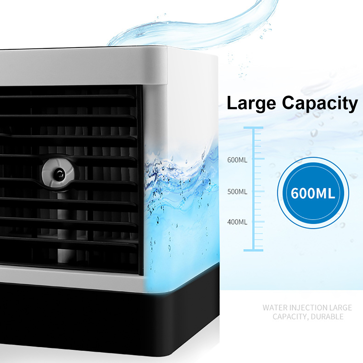 3 In1 Portable Usb Air Conditioner Cooler Nano Water Cool