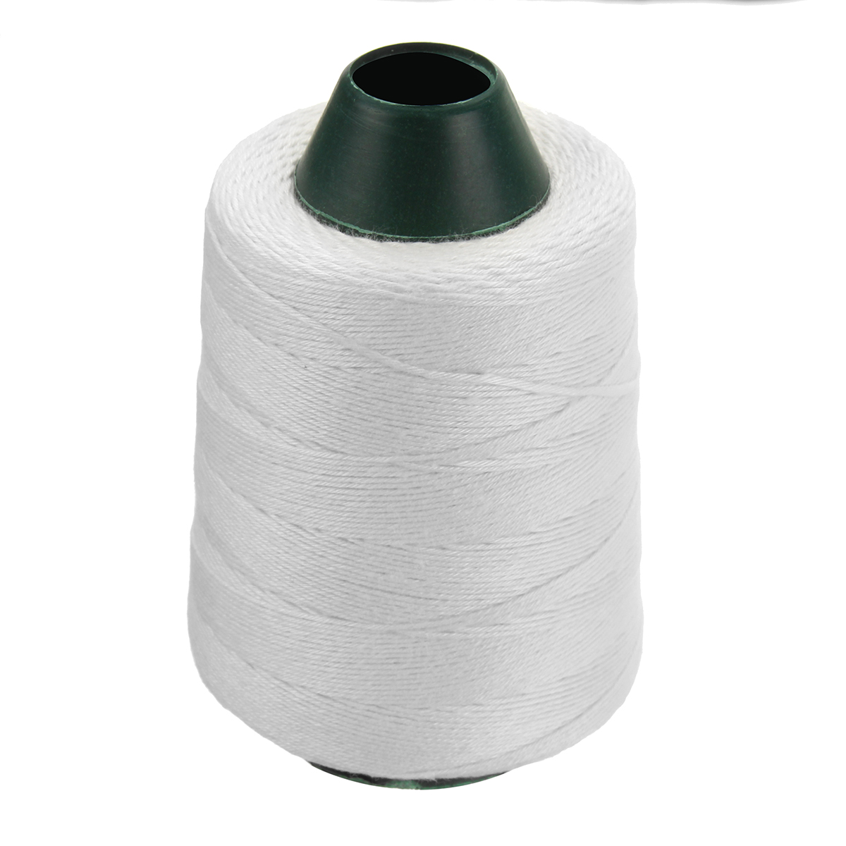 1141FT Polyester White Thread For Portable Bag Closer Stitcher Sewing Tools Machine