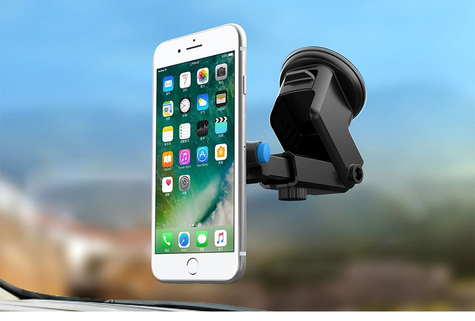 Bakeey Universal Adjustable Car Holder Phone Stand Case for iPhone Xiaomi Samsung