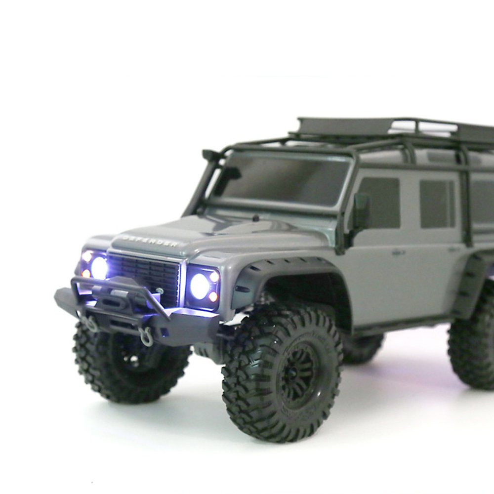 GRC 1/10 TRAXXAS TRX-4 Rc Car Parts Front Lamp Cup Headlight/Taillight LED light Cover Kit - Photo: 3