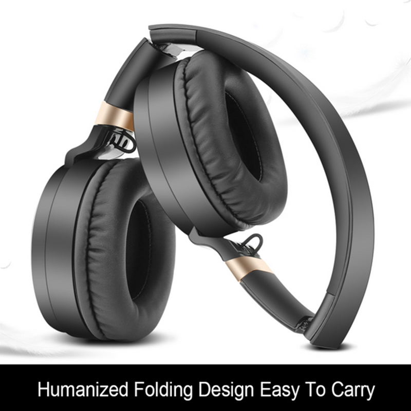 YT HS-827 Foldable Wireless bluetooth Earphone TF Card Bass Headphone Headset for iPhone Samsung