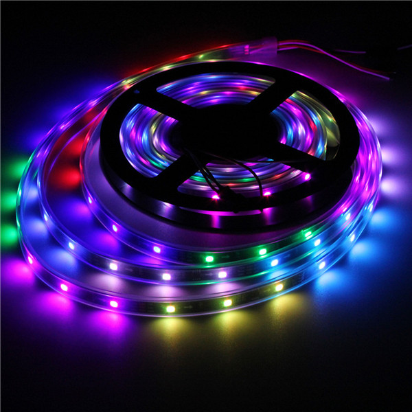 WS2811 5M LED Strip 150 SMD 5050 LED RGB Dream Color Strip Light Waterproof IP65 DC 12V