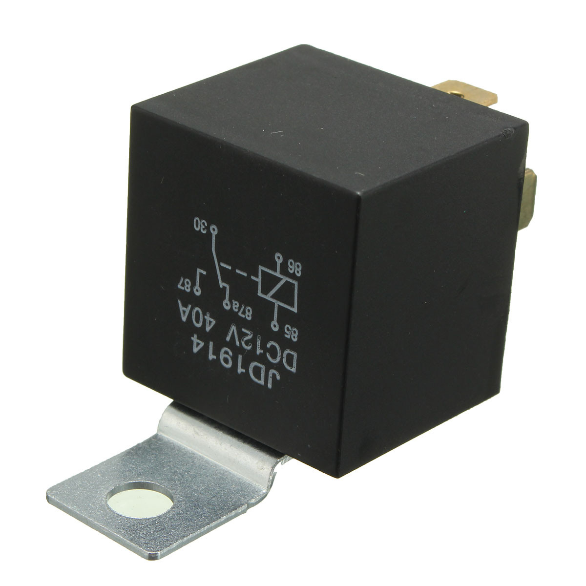 Diagram 4 Pin 40a 12v 40 Amp Relay Normally Open Contact For Auto Car Boat