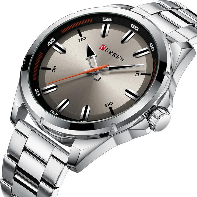 CURREN 8320 Business Style Stainless Steel Men Wrist Watch