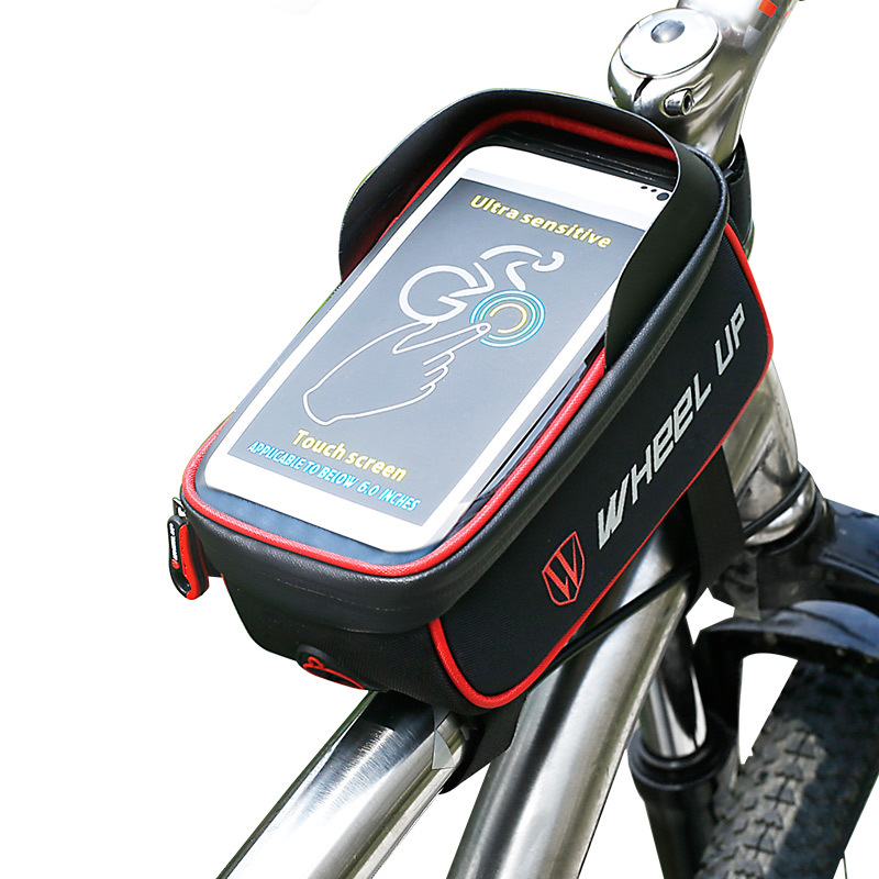 WHEEL UP Bicycle Touchscreen Front Frame Tube Cell Phon