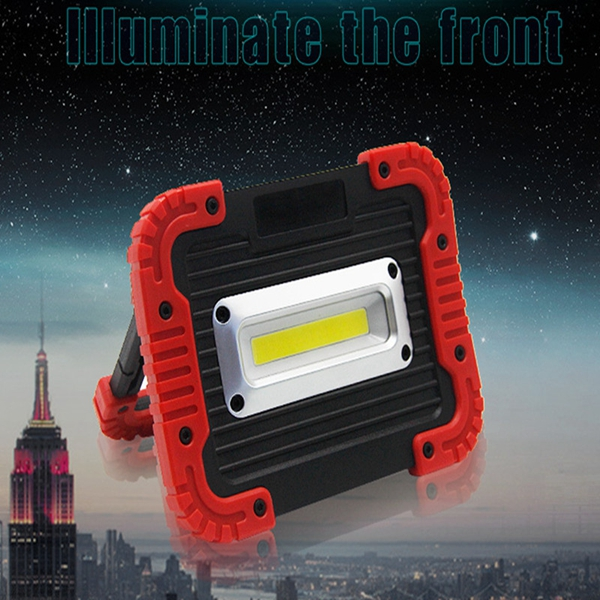 Portable 10W COB LED Rechargeable Camping Lantern Emergency Work Light for Outdoor Hiking Fishing