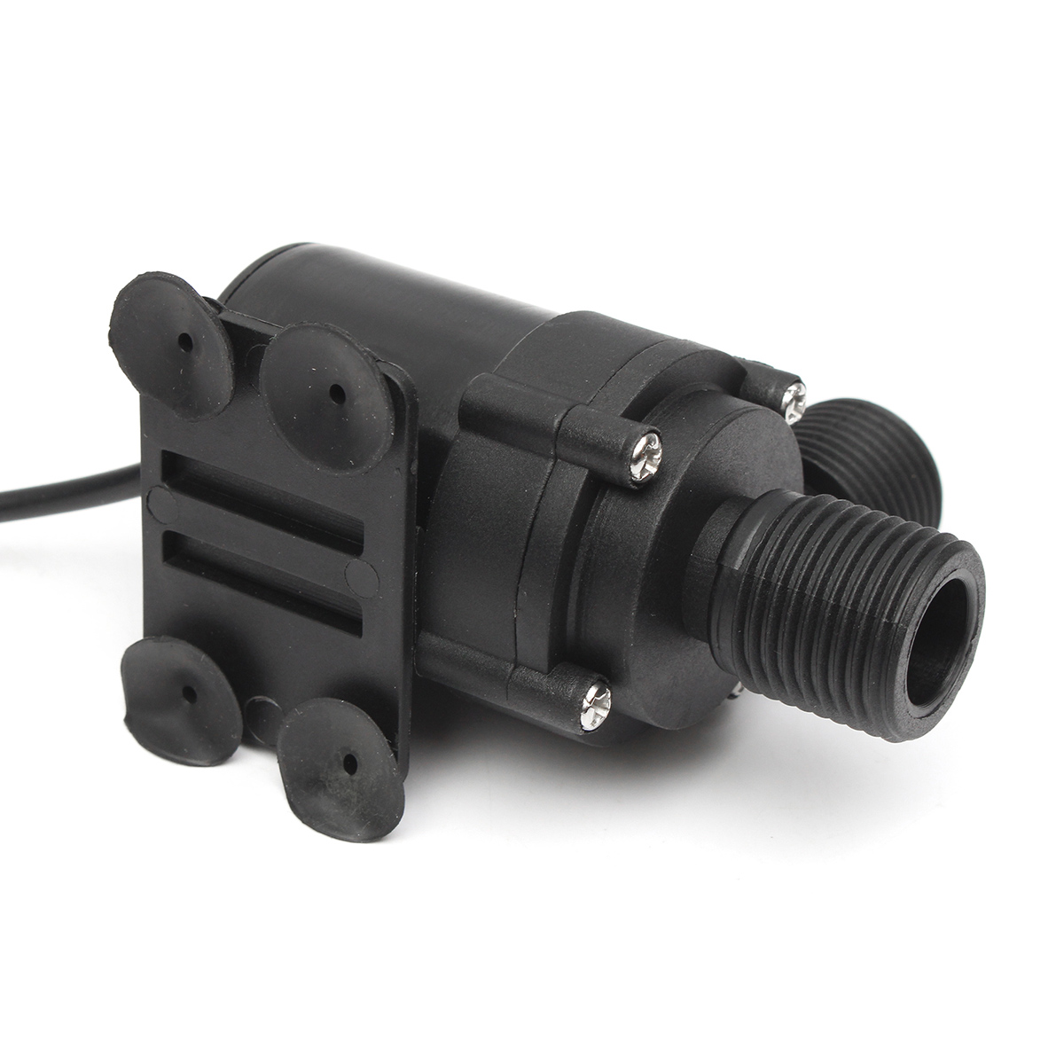 DC 12V Brushless Motor Electric Mini Submersible Water Pump Ultra Quiet Plastic