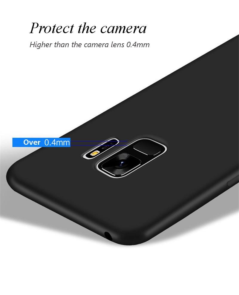 Bakeey Candy Color Matte Soft TPU Protective Case for Samsung Galaxy S9