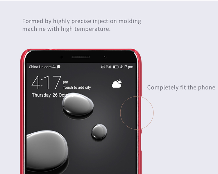 NILLKIN Frosted Shield PC Hard Back Cover Phone Case For HUAWEI Mate 10
