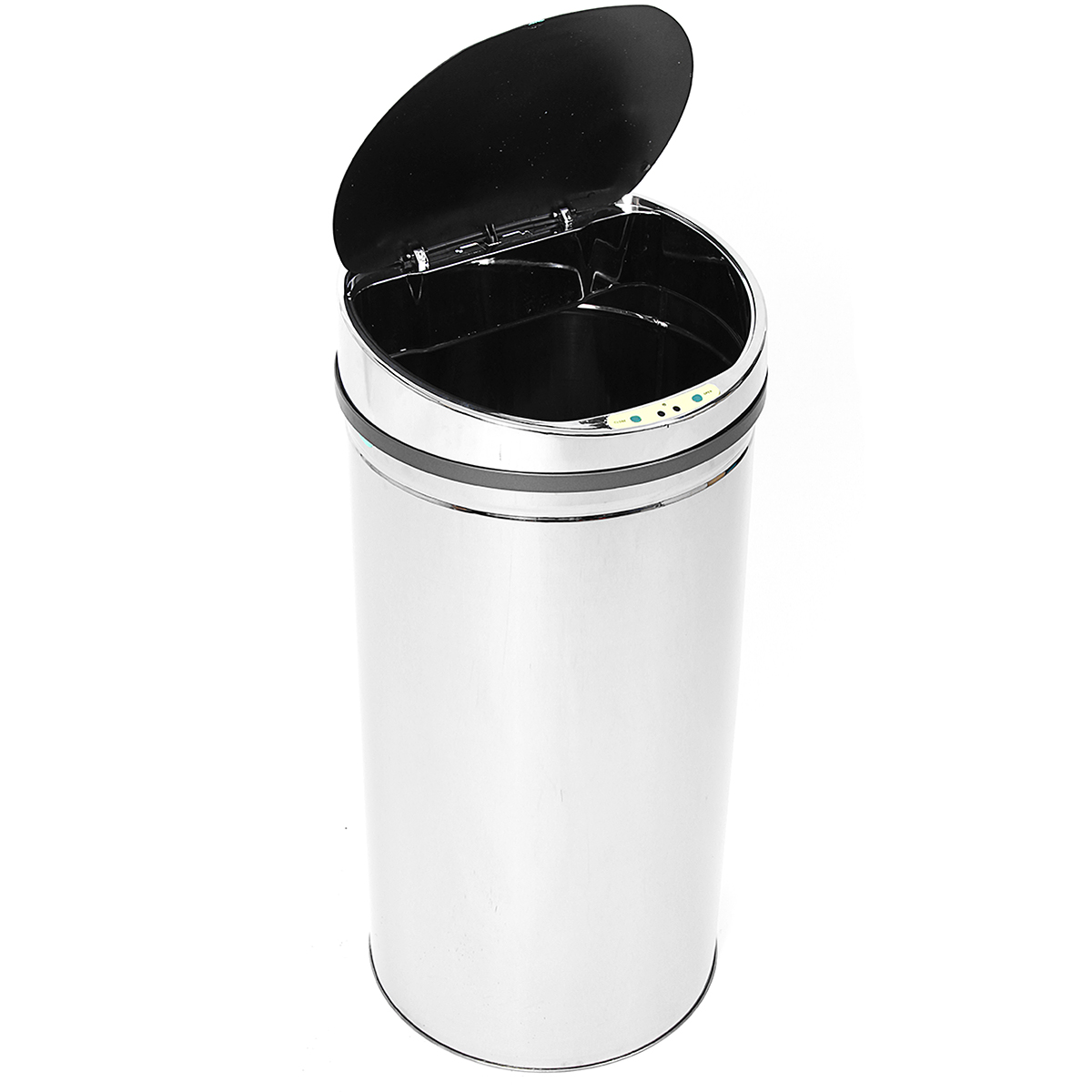 50L Sensor Rubbish Bin Trash Can Stainless Steel Automatic Touchless Motion