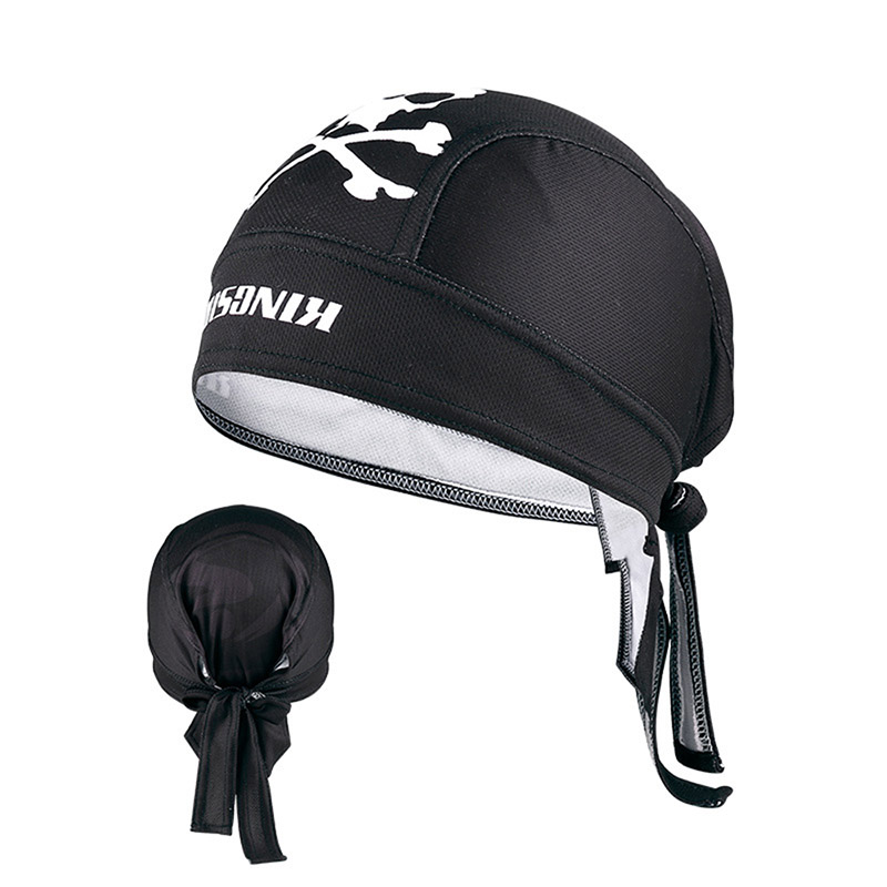 Wicking Printting Cycling Headband Running Beanies Hat