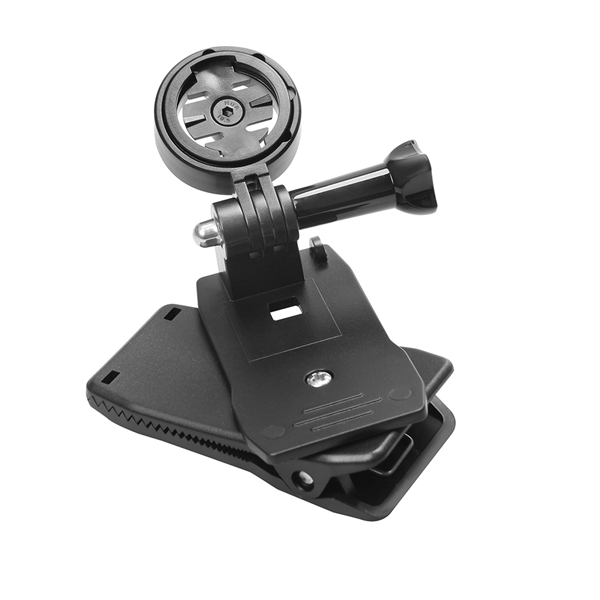 GPS Holder Adapter with 360 Degree Bag Strap Quick Release Clip for Garmin Edge Cycle GPS 25 200 500