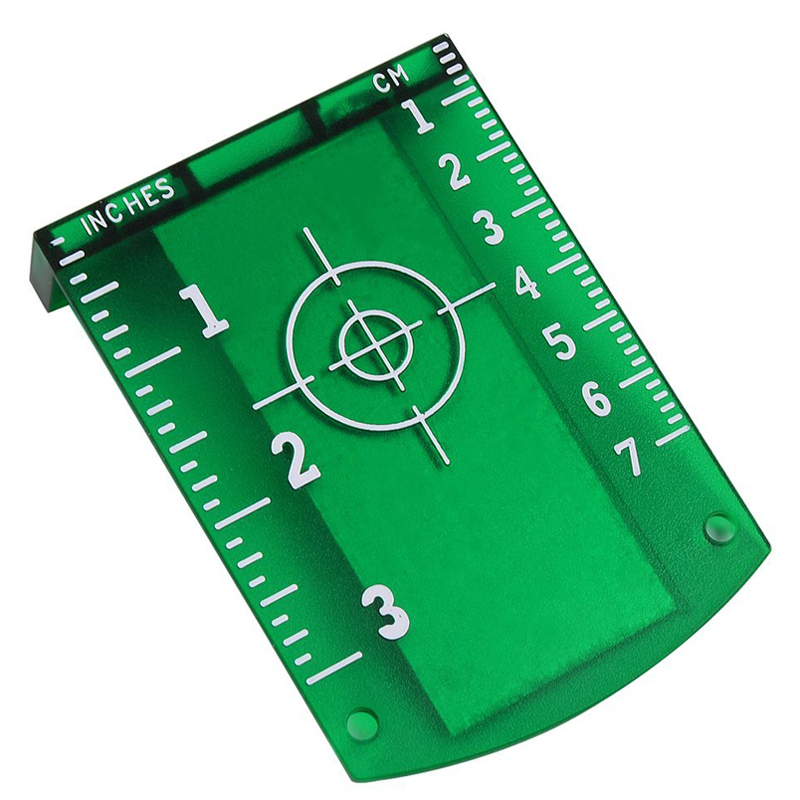 Red Green Laser Target Card Plate for Red Green Laser Level