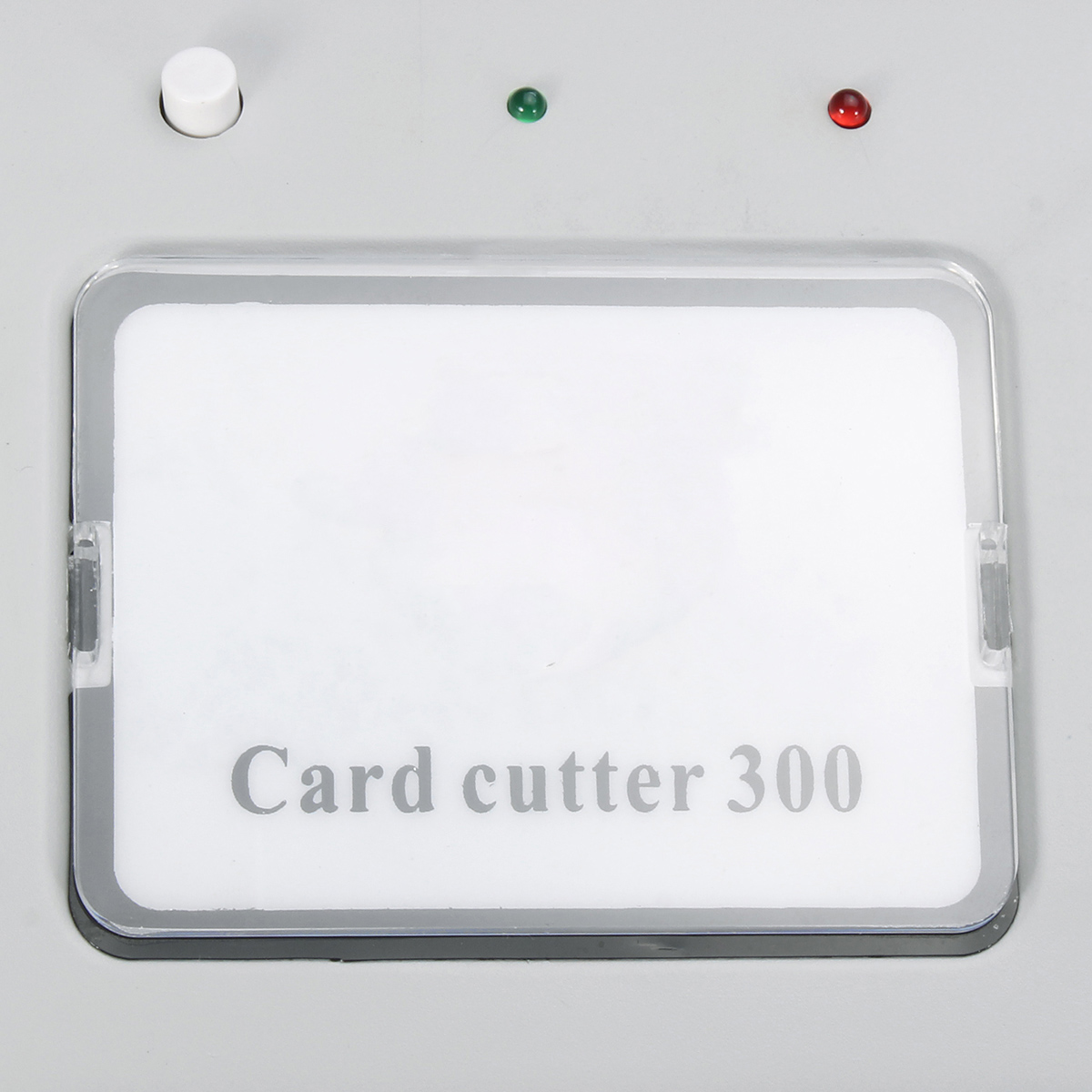 300B Automatic Name Card Slitter A4 Size Business Card Cutting Machine