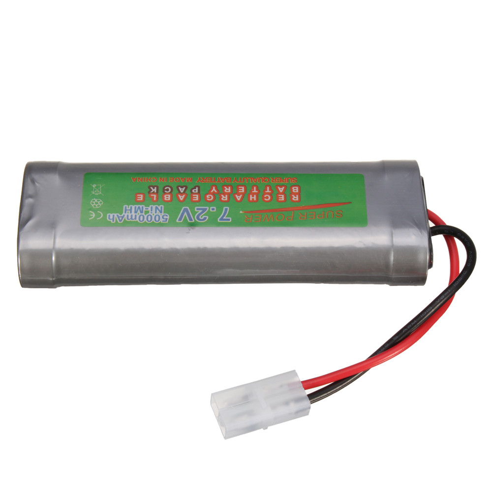 7.2V 6800mAH Ni-MH Rechargeable Battery Pack for Toy Vehicle Boat AirPlane