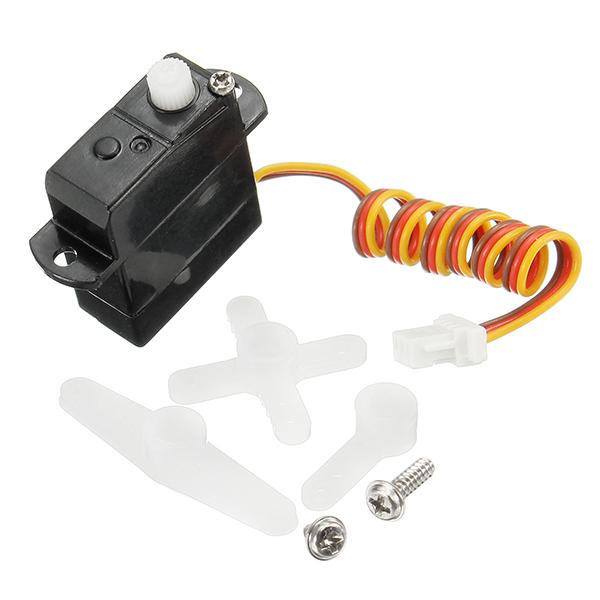 2Pcs 1.7g Low Voltage Micro Digital Servo Mini JST Connector for RC Model
