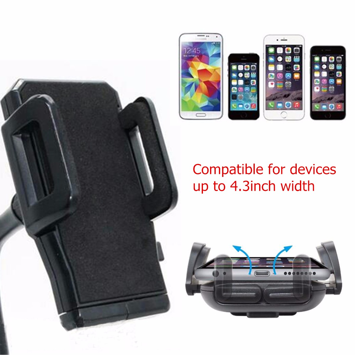Universal Cup Holder Cradle Car Mount Adjustable for iPhone 6 Samsung MP4 GPS