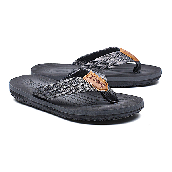 Flip-Flops Summer Use Double layer Tire Rubber To Thick