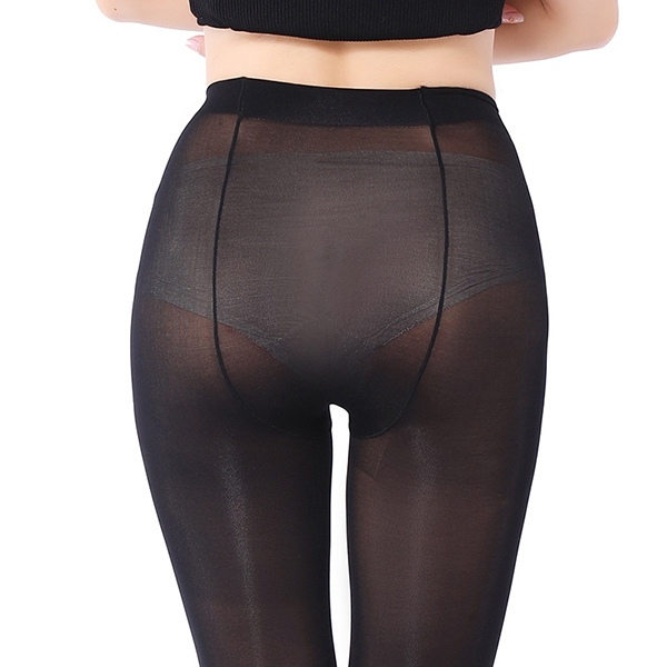 Women Sex Velvet Pants Elastic Pantyhose Stirrup Legging