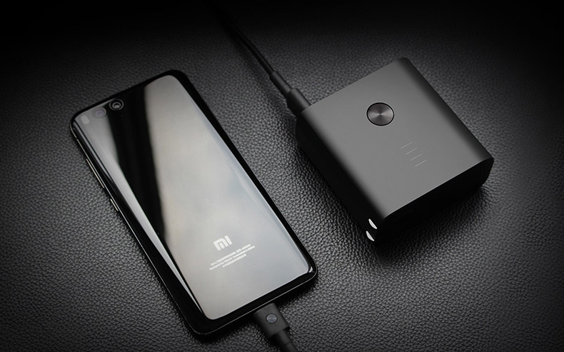Original Xiaomi ZMI 2 in1 QC3.0 Dual USB Wall Charger with 6500mAh Power Bank for Mobile Phone