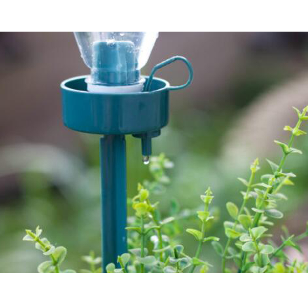 5Pcs Automatic Adjustable Flow Rate Drip Watering Spike Device for Garden Plant Irrigation