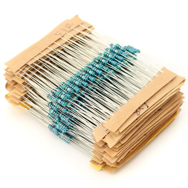 Geekcreit® 1350pcs 135 Value 1/4W Metal Film Resistor Assortment Kit