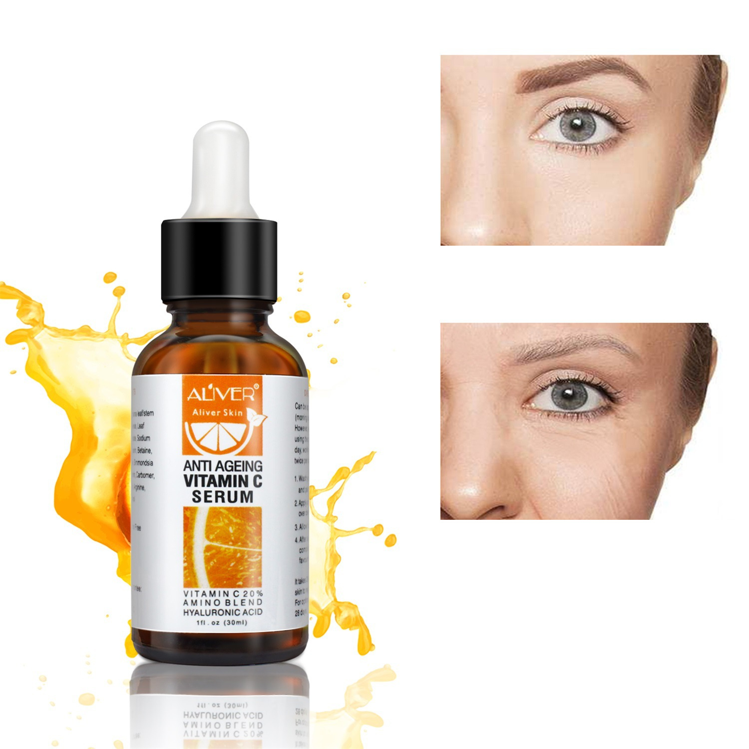 30ml Vitamin C Essence Deep Moisturizing Acne Essence Skin Tone Face Care