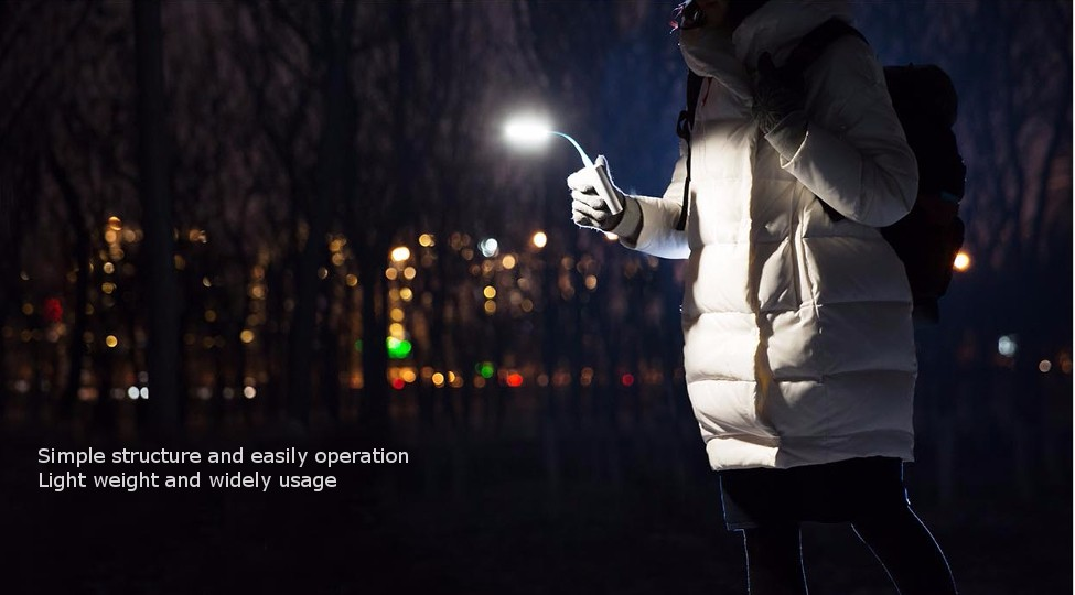 Original Xiaomi LED Light Enhanced Version With USB For Power Bank