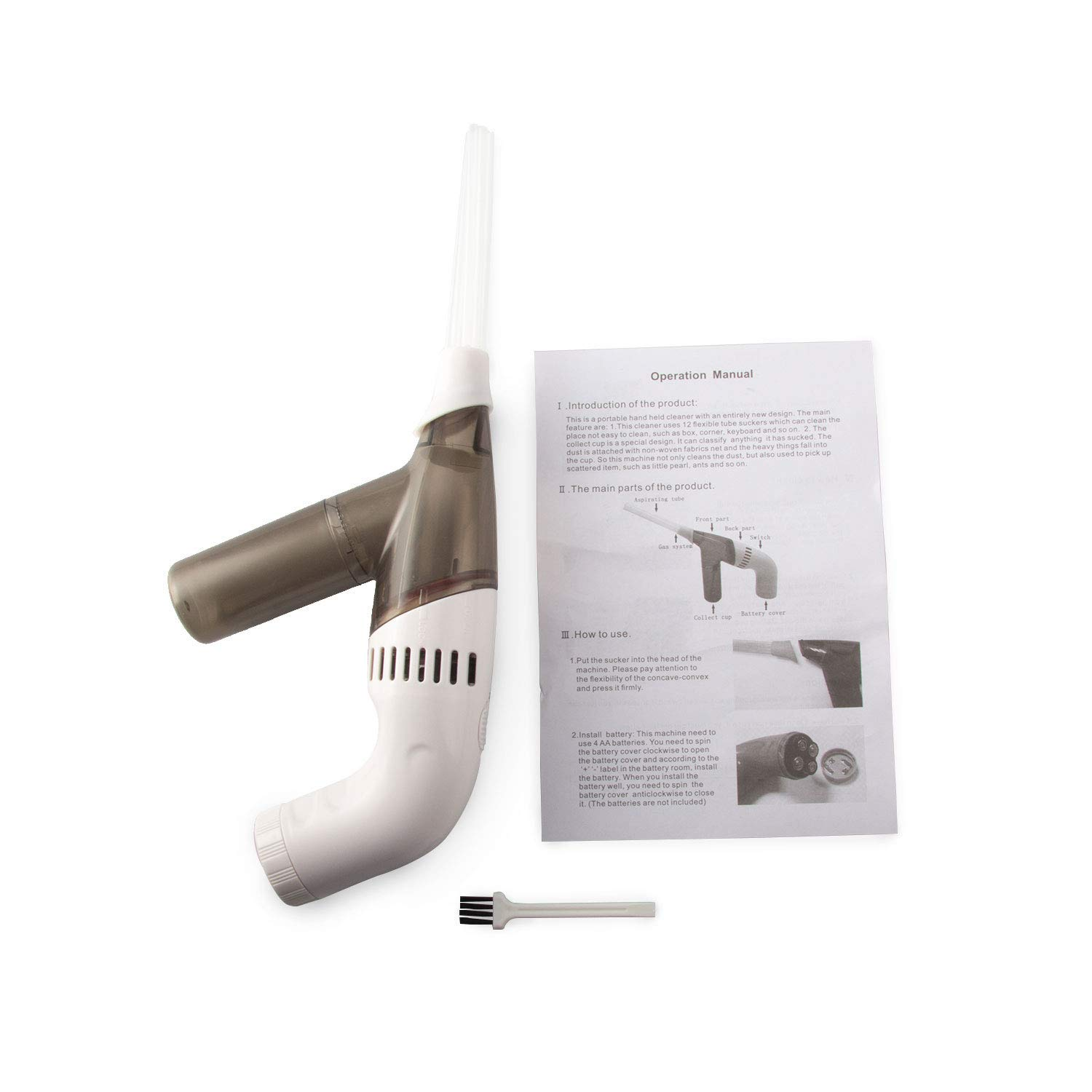 My Lil Duster Brush Cleaner Dirt Remover Portable For Handheld Vacuum Cleaner Easy To Replacement Cleaning Brush Heasd