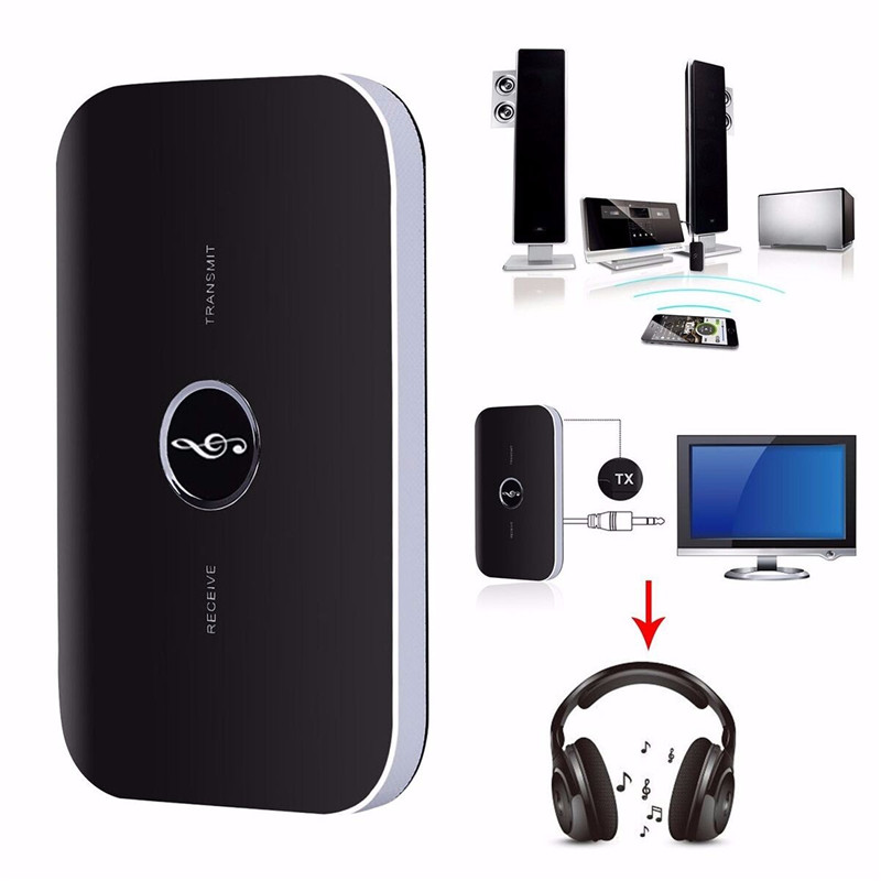 2 in 1 B6 bluetooth Wireless Audio Receiver Portable Transmitter 3.5MM Adapter